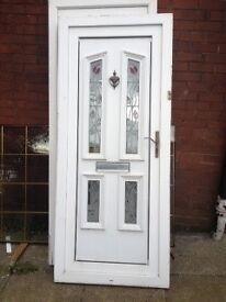 Front door with key 885x2070