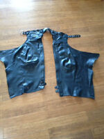 MEN'S & LADIES  LEATHER MOTORCYCLE RIDING CHAPS