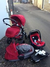 Brittax affinity travel system for sale