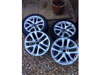 4 alloy wheels 17 inchs