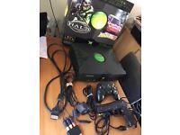 Original Xbox Console. Controllers, Brute Force game