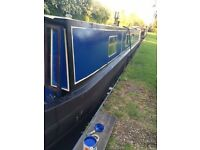 60ft Traditional Narrow boat -live aboard
