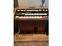 electric organ, wersi matic lll