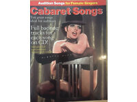 Cabaret Songs - Audition Vocal Song book