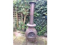 Chimnea woodburner/ BBQ