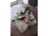 Scarf - Liberty of London fine wool large floral scarf