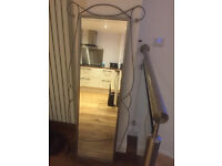 Decorative Metal Full Length Mirror