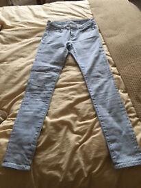 Jack Wills Ladies Striped Jeans