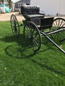 1 Horse buggy's $700.00