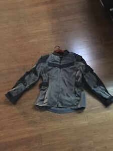 Ladies Armored Matching Motorcycle Jacket and Pants