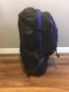 Backpack with detachable day pack
