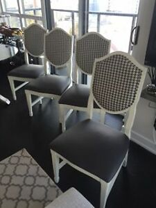 Dining Room Chairs Wood and Leather chairs x 4 $150 each OBO