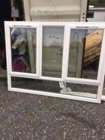 White UPVC windows 1980x1510, 1985x1510, 1970x1500
