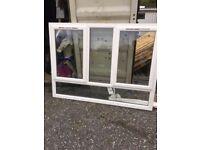 White UPVC windows 1980x1510, 1985x1510, 1970x1500