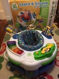 Leapfrog Baby Learn & Groove Activity Station (Suitable 4+ months to Walking Age)