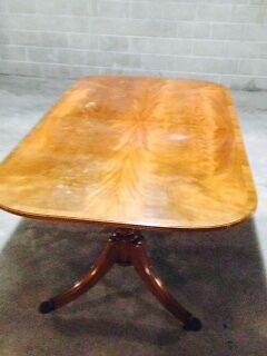 Reproduction 10 Seater  Extension Dining Table including Chairs Narrabeen Manly Area Preview