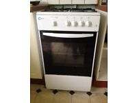 Flavel Gas cooker oven and hob white good working condition - grab a bargain