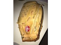 "Rawlings Fastback SupeRsize RSG1 13 1/2"" RHT Leather Glove - Used"