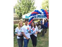 Domino's Pizza Promo Staff Needed Exteter University
