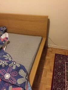 Queen bed with mattress