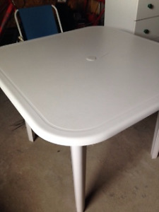 Patio Table 37 1/4 in square