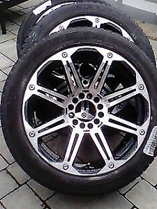 "Chrome RIMS (American Racing 20"") with Pirelli Tires"