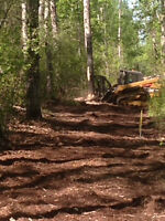 Brush clearing, Mulching,Fencing,Snow clearing