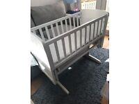 Baby Crib (White)
