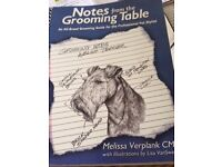 Notes from the Grooming Table, by Melissa Verplank CMG. Good condition.