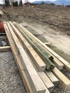 Square Posts - 6x6x24' New/Used/Landscaping Various prices