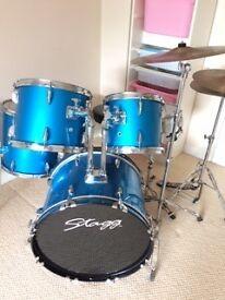 Stagg Blue 5Piece Junior Drum Kit