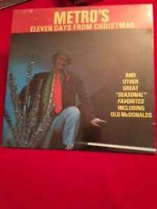 New Sealed lp Metro's Eleven Days From Christmas  Singwell MINT Edmonton Edmonton Area image 1