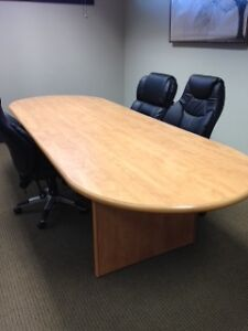 """Boardroom Table 43"""" wide x 110 ft long"""