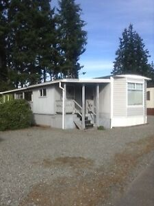 #305-3120 N ISLAND HWY Mobile+Land reduced 10K to $109,000