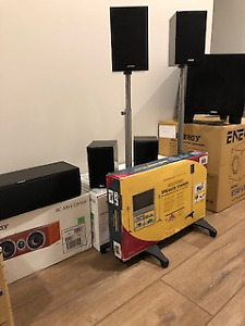 Home Theatre System - including Television
