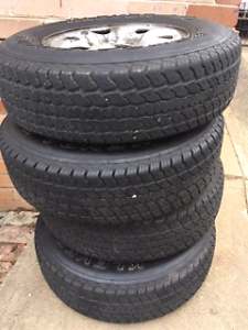 4 Hilux LT 225/75 R16 tyres Denistone East Ryde Area Preview