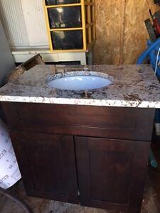 lavabo granite