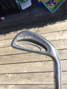 Tour Model irons, Bag and misc clubs