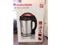 BRAND NEW BOXED Morphy Richards Soup & Smoothie Maker