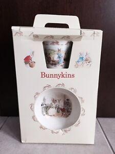 Bunnykins bowl and mug