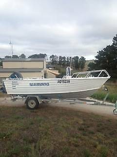 Savage 90hp mercury  fishing boat 5.3m