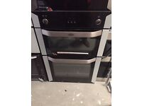 Belling gas dual fuel double oven