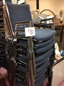 STACKABLE STEEL CHAIRS