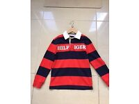 BRAND NEW Tommy Hilfiger Boys Polo Top Age 8-10