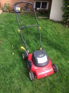"18"" Homelite Electric Lawnmower"