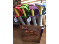 Box of 24 Foam Pirate Swords