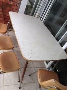 Formica table and 6 vinyl chairs Darling Point Eastern Suburbs Preview
