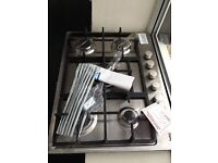 5 burner stainless steel gas hobs new 12 months gtee only £140