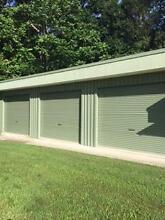 Green Garage shed rollers doors x 2 Byron Bay Byron Area Preview