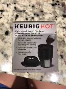 Keurig Hot 2.0 My K-cup Reusable Coffee Filter